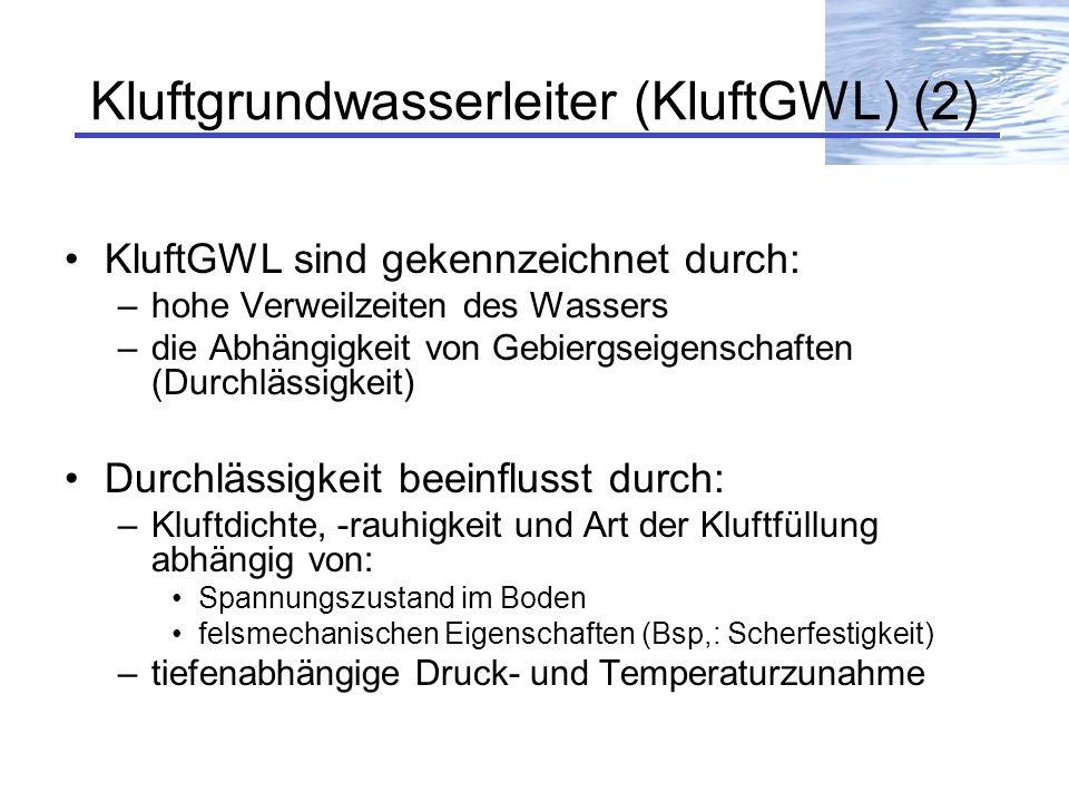 Kluftgrundwasserleiter (KluftGWL) (2)