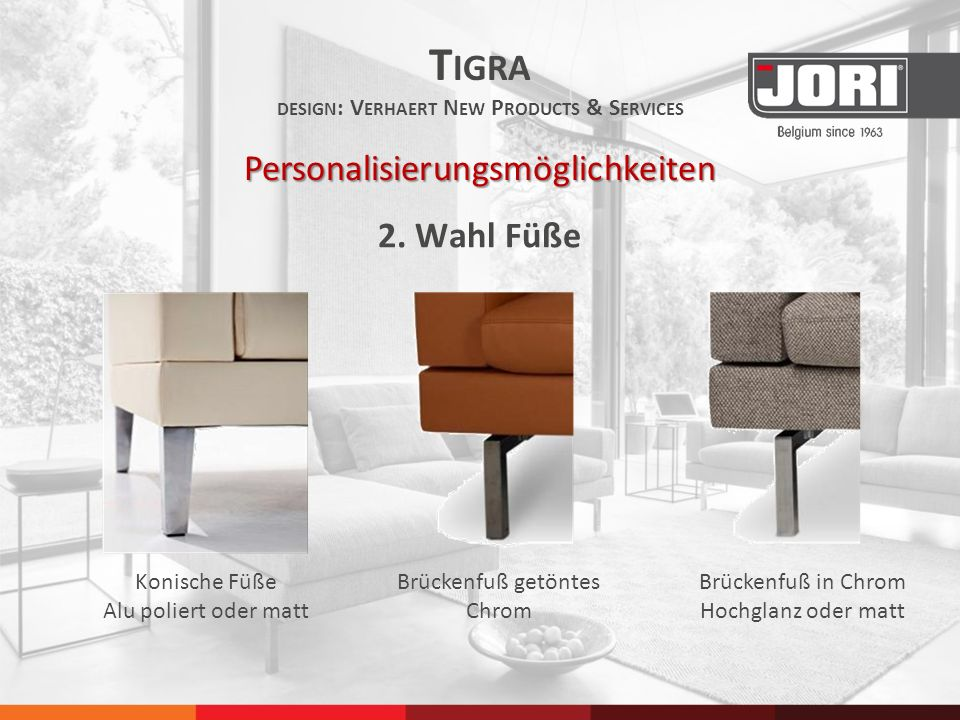 Tigra design: Verhaert New Products & Services