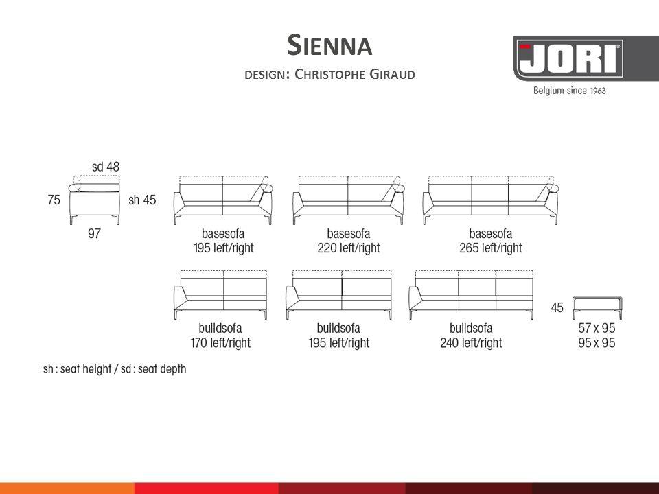 Sienna design: Christophe Giraud