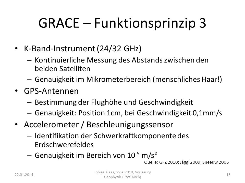 GRACE – Funktionsprinzip 3