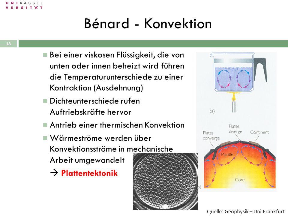 Bénard - Konvektion