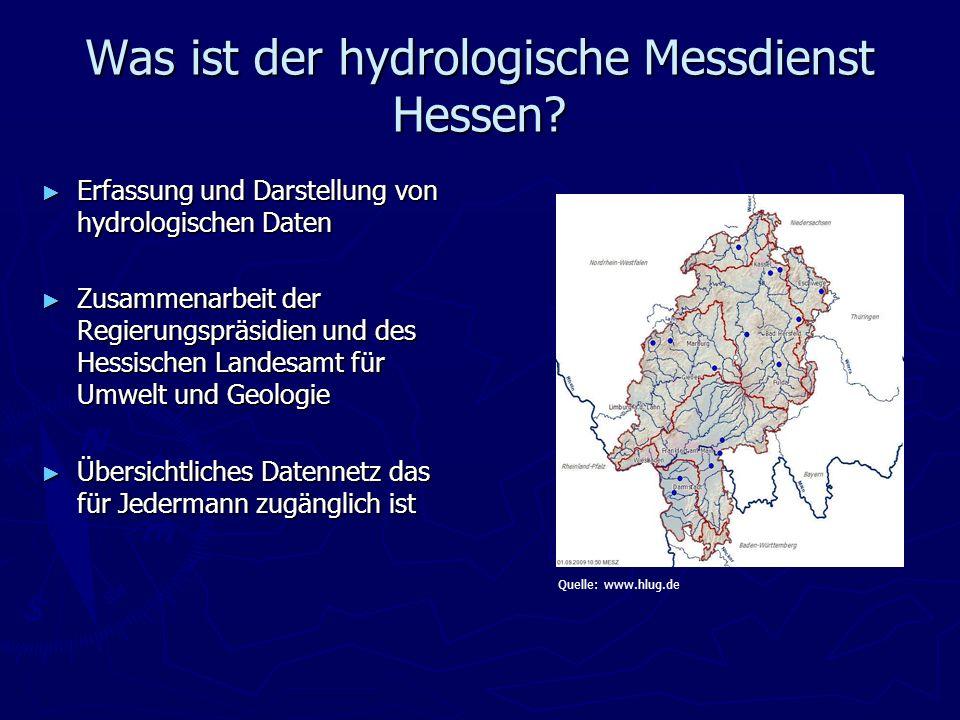 Was ist der hydrologische Messdienst Hessen
