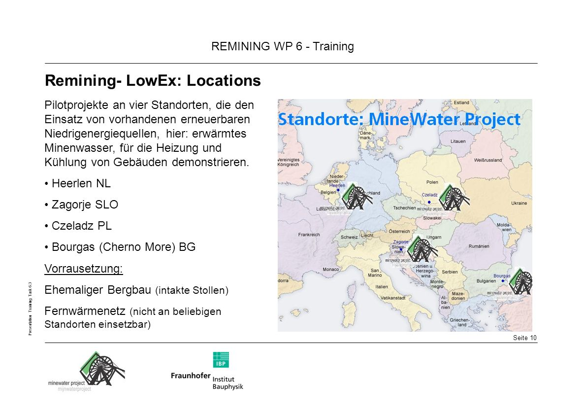 Remining- LowEx: Locations