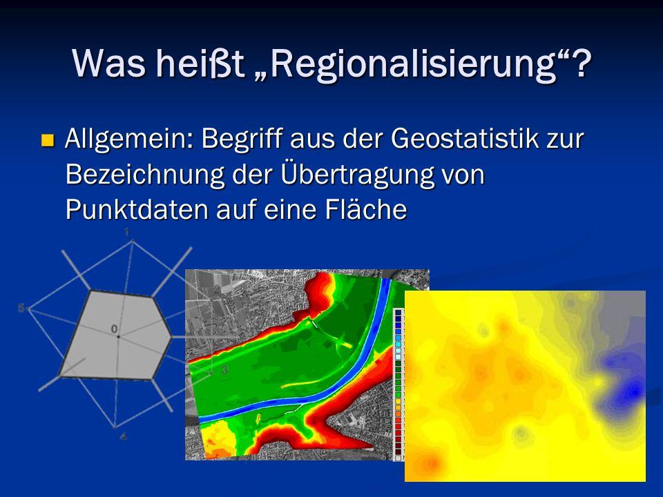 """Was heißt """"Regionalisierung"""