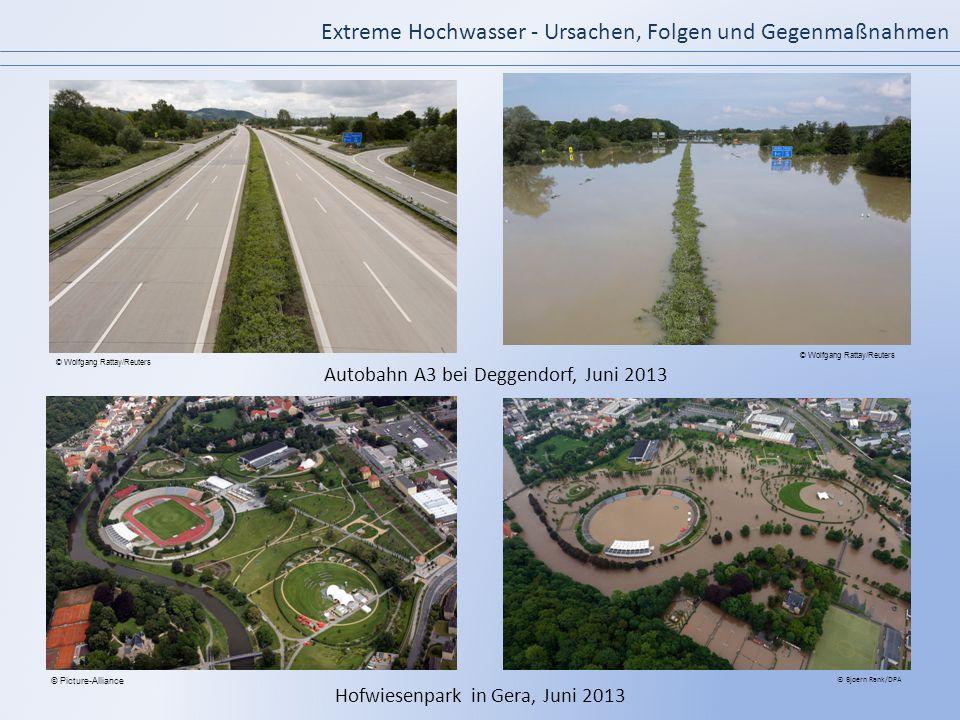 Autobahn A3 bei Deggendorf, Juni 2013