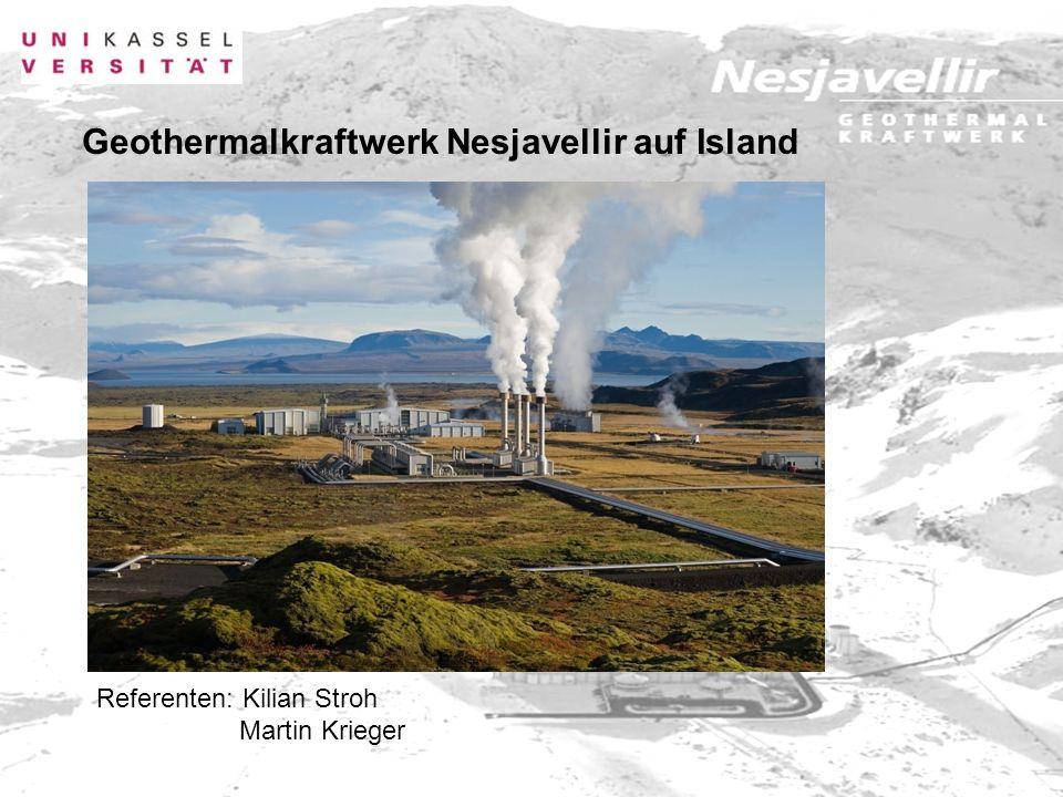 Geothermalkraftwerk Nesjavellir auf Island