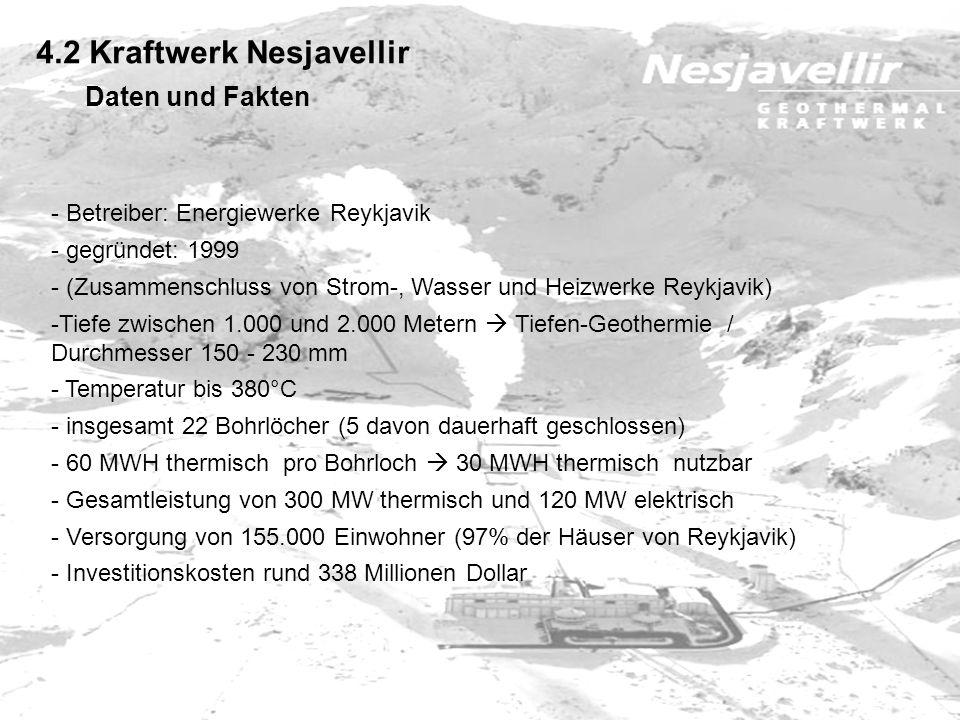 4.2 Kraftwerk Nesjavellir