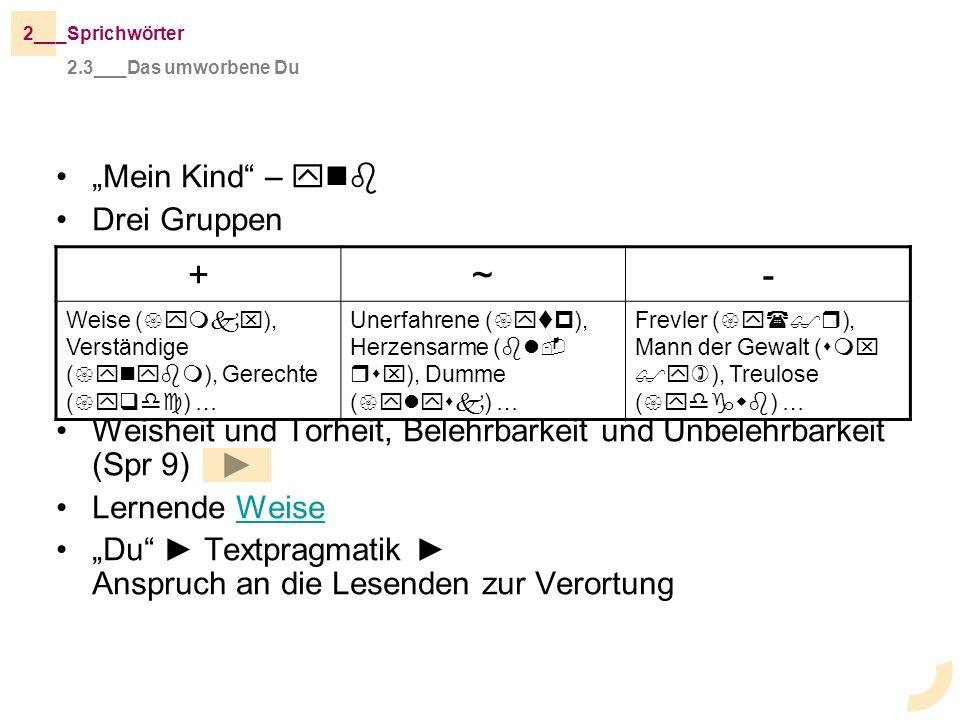 """+ ~ - """"Mein Kind – ynb Drei Gruppen"""
