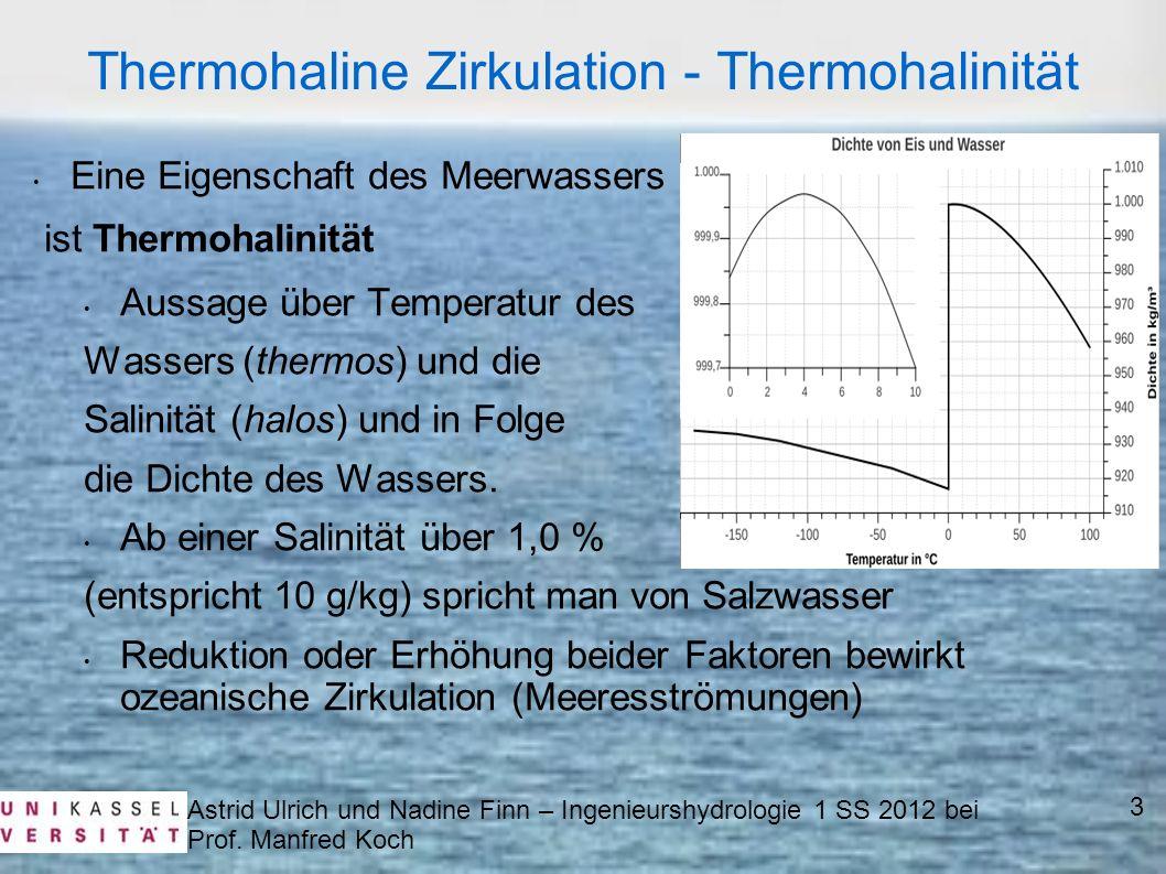 Thermohaline Zirkulation - Thermohalinität