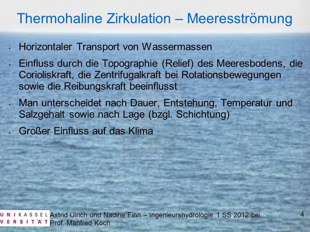 Thermohaline Zirkulation – Meeresströmung