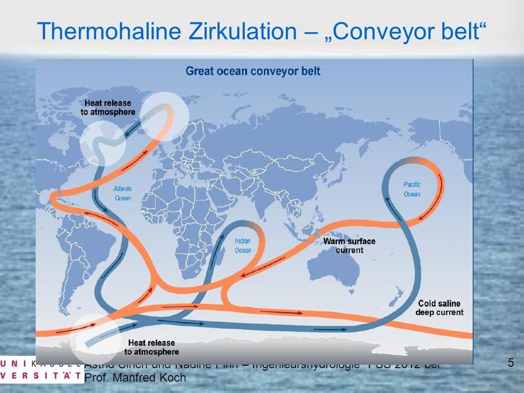 "Thermohaline Zirkulation – ""Conveyor belt"