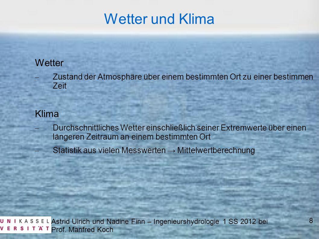 Wetter und Klima Wetter Klima