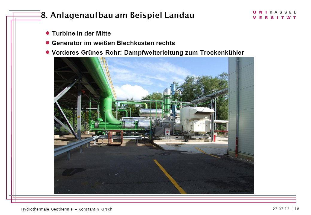 8. Anlagenaufbau am Beispiel Landau