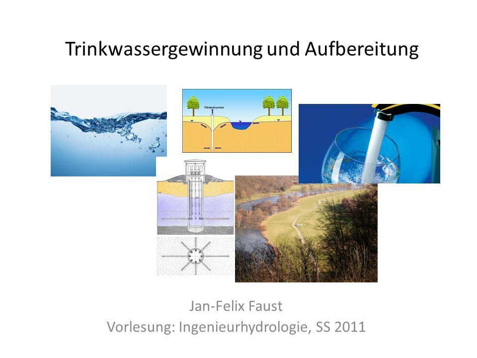 Trinkwassergewinnung und Aufbereitung
