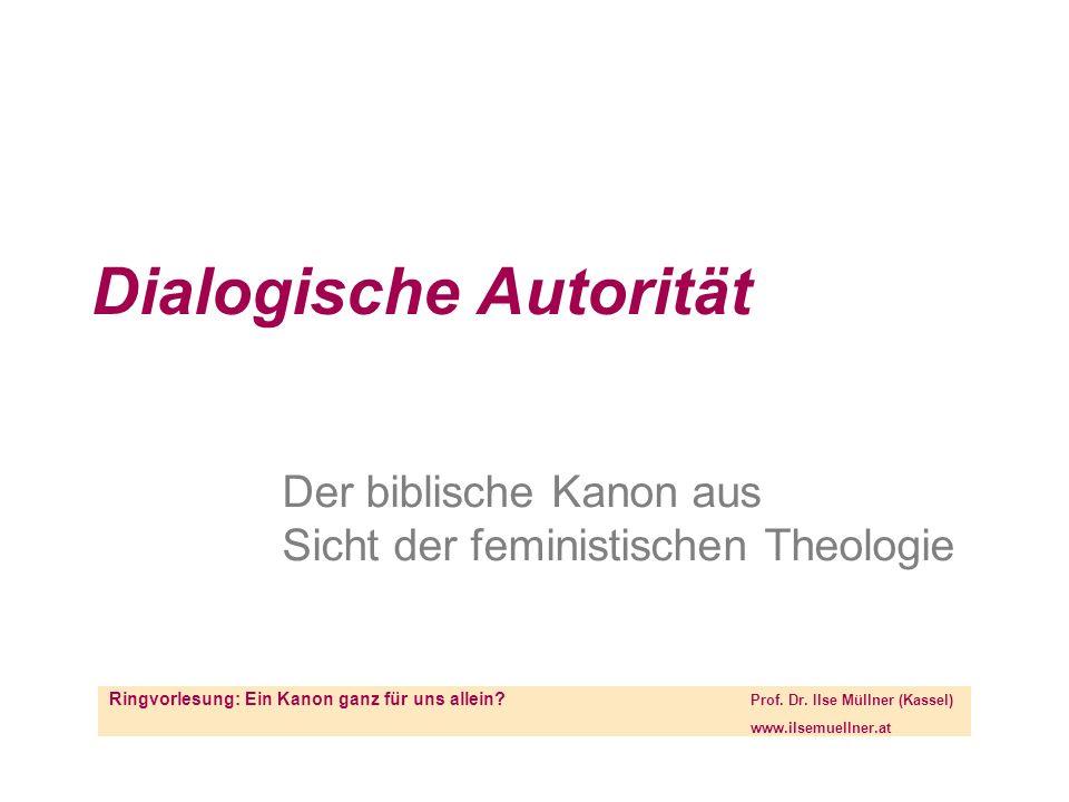 Dialogische Autorität