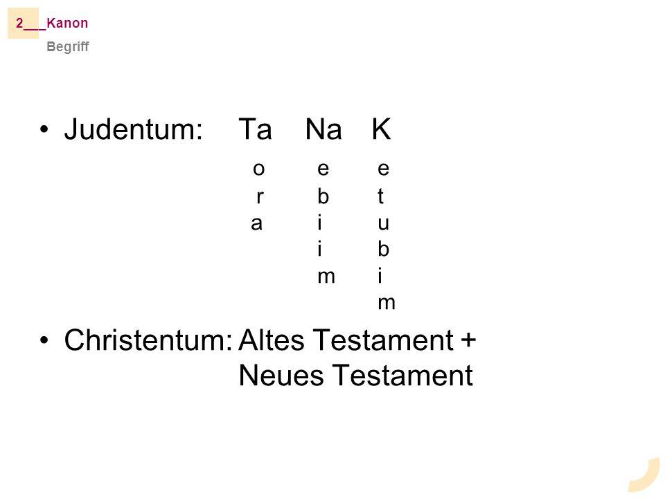Judentum: Ta Na K o e e r b t a i u i b m i m