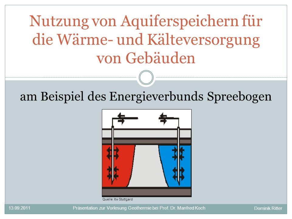 am Beispiel des Energieverbunds Spreebogen