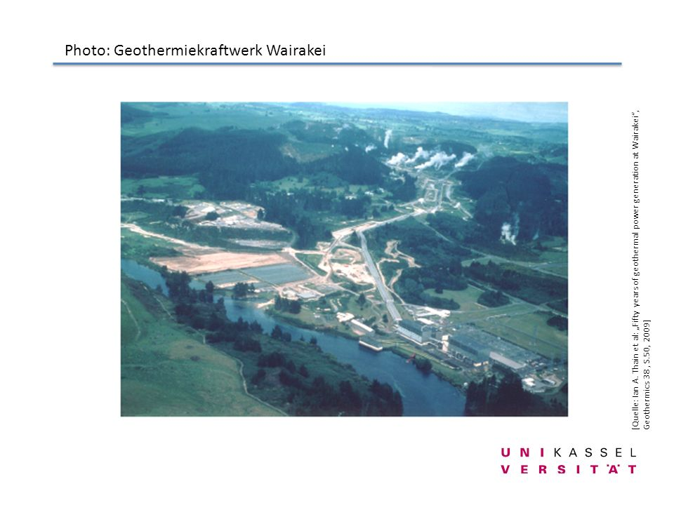 Photo: Geothermiekraftwerk Wairakei