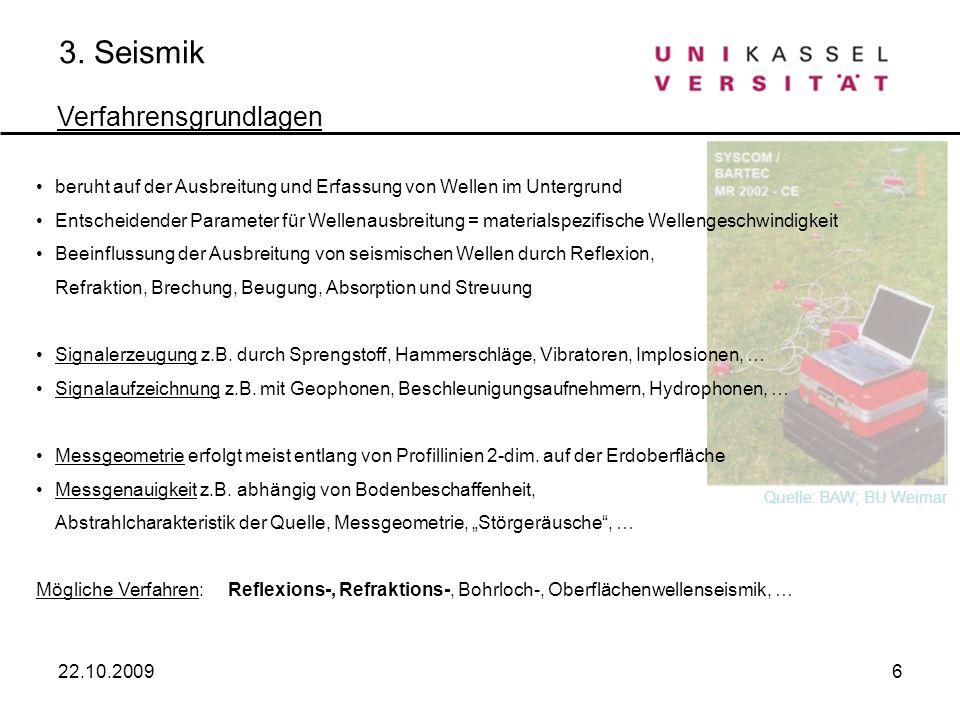 3. Seismik Verfahrensgrundlagen