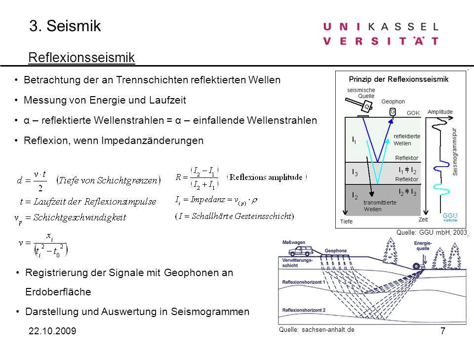 3. Seismik Reflexionsseismik