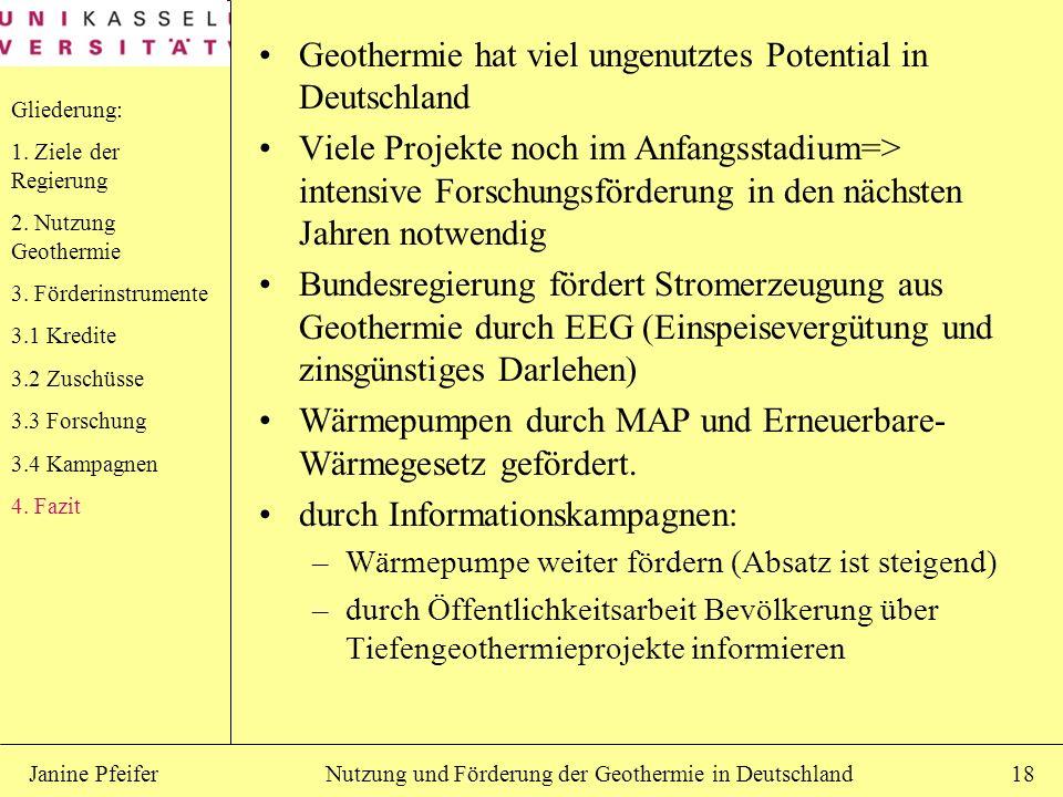 Geothermie hat viel ungenutztes Potential in Deutschland
