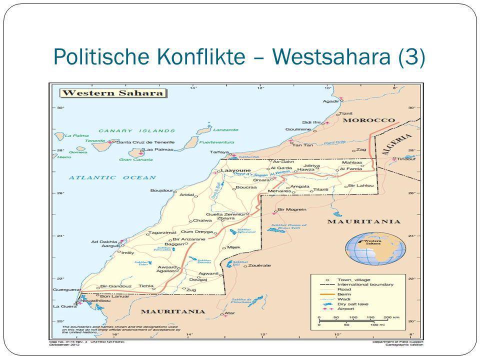 Politische Konflikte – Westsahara (3)