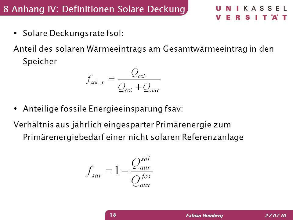 8 Anhang IV: Definitionen Solare Deckung
