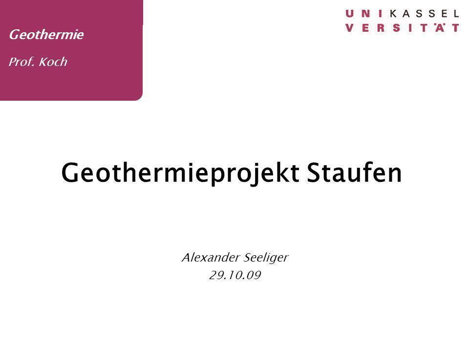 Geothermieprojekt Staufen