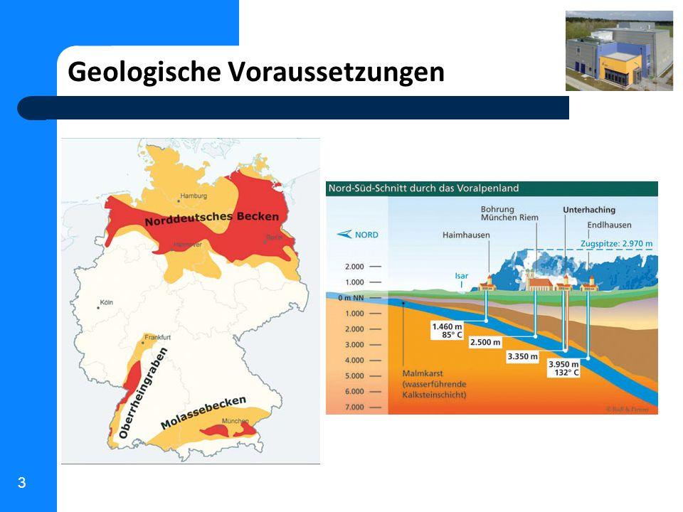 Geologische Voraussetzungen