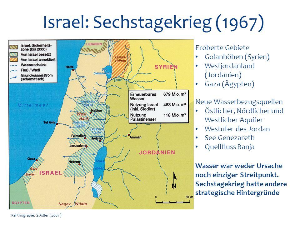 Israel: Sechstagekrieg (1967)