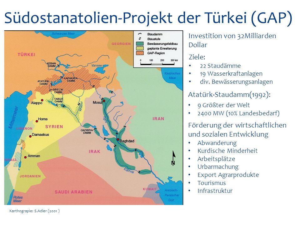 Südostanatolien-Projekt der Türkei (GAP)