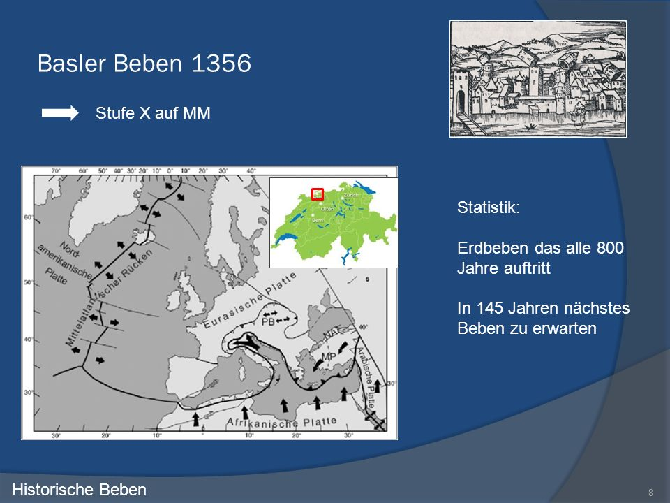 Basler Beben 1356 Stufe X auf MM Statistik: