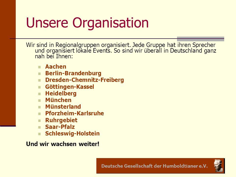 Unsere Organisation
