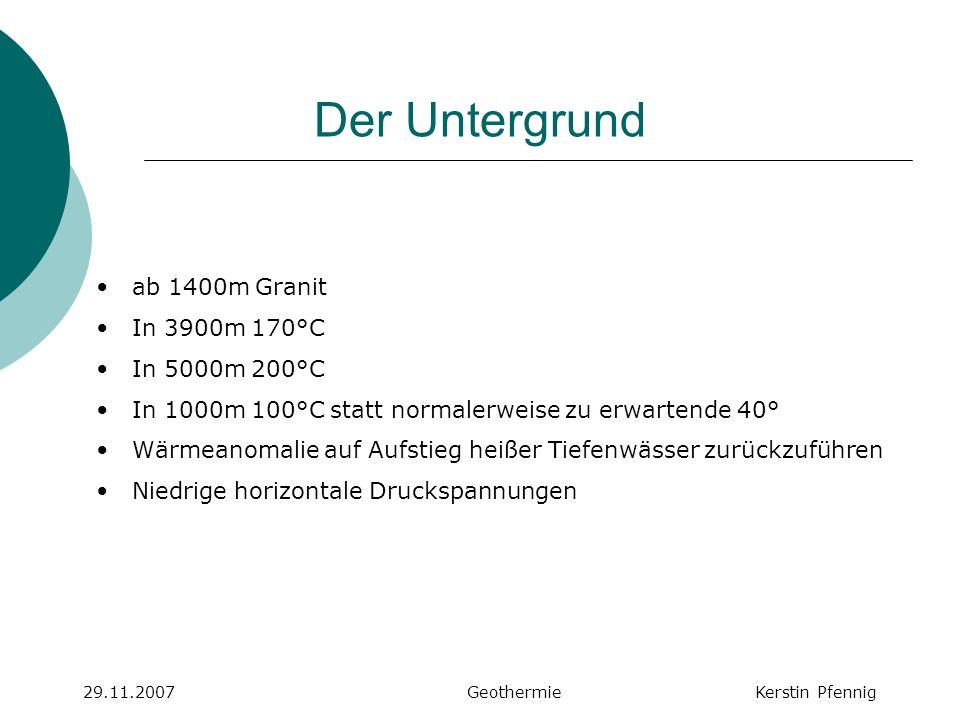 29.11.2007 Geothermie Kerstin Pfennig