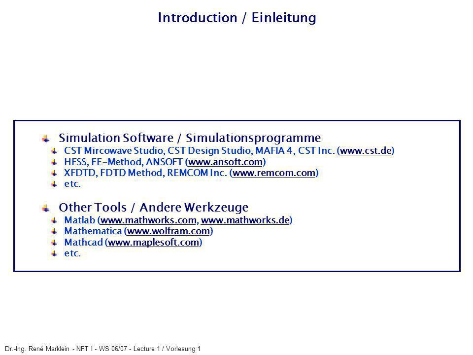 Introduction / Einleitung