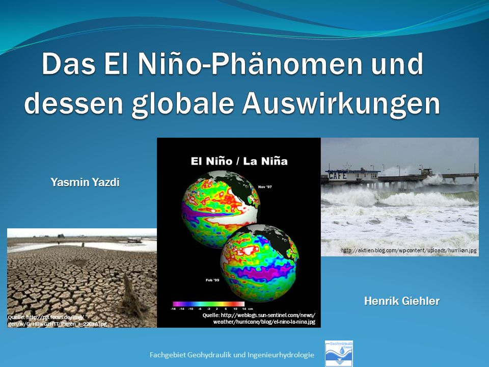 Das El Niño-Phänomen und dessen globale Auswirkungen