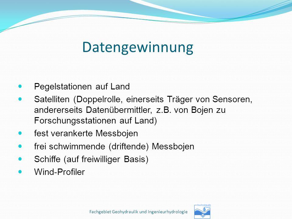 Fachgebiet Geohydraulik und Ingenieurhydrologie