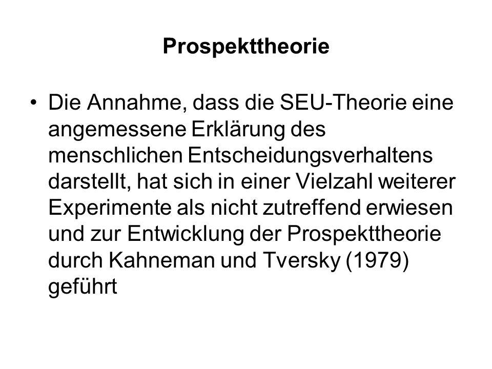 Prospekttheorie