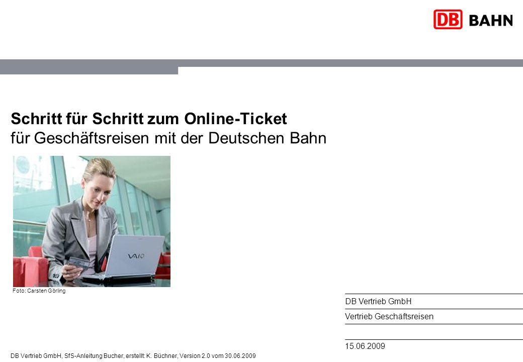 Schritt für Schritt zum Online-Ticket