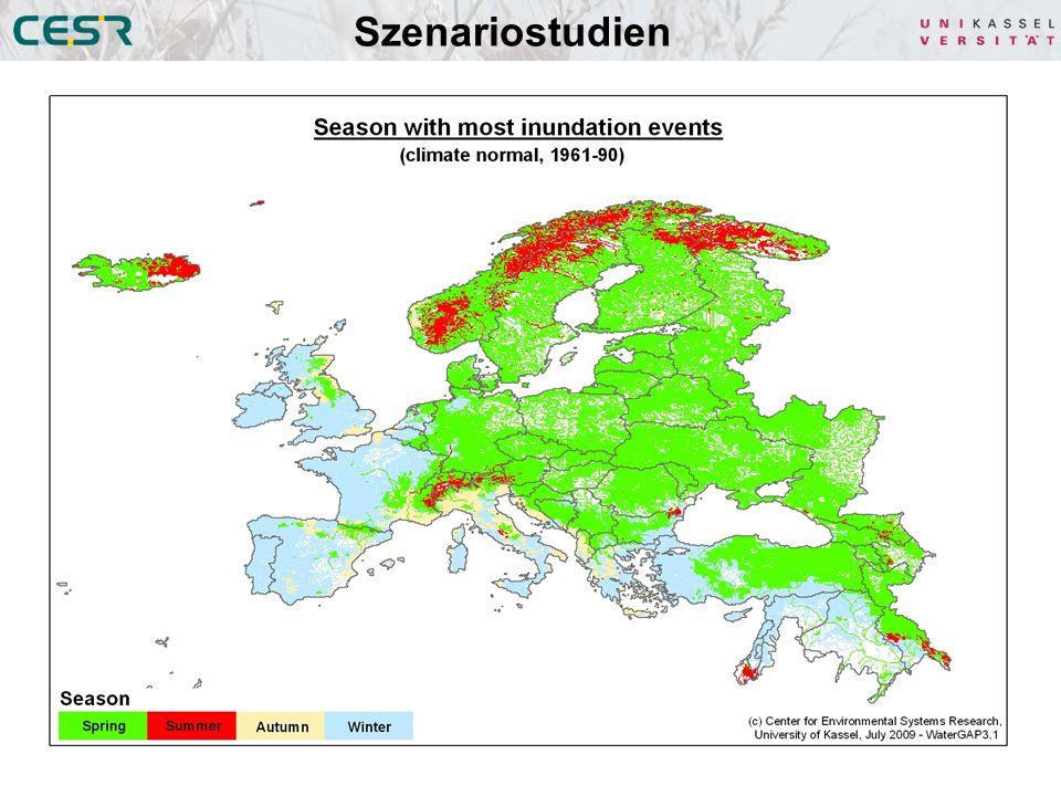 Szenariostudien Überschwemmungsereignisse