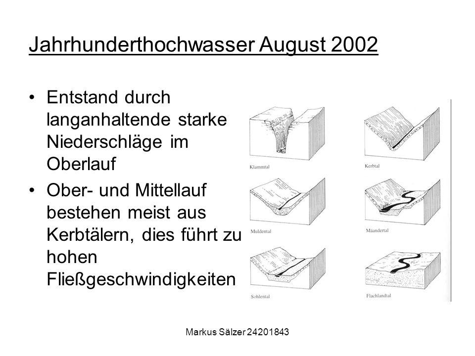 Jahrhunderthochwasser August 2002