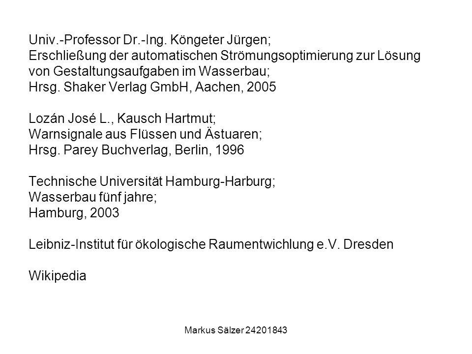 Univ.-Professor Dr.-Ing. Köngeter Jürgen;