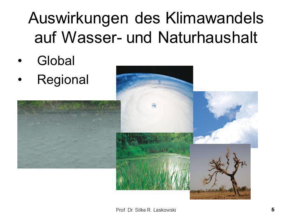 Auswirkungen des Klimawandels auf Wasser- und Naturhaushalt