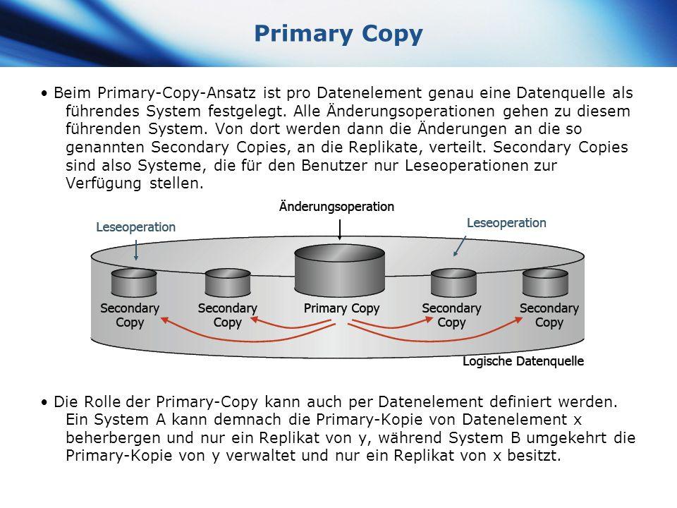 Primary Copy
