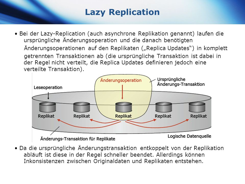 Lazy Replication