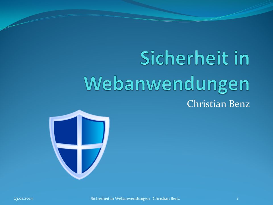 Sicherheit in Webanwendungen
