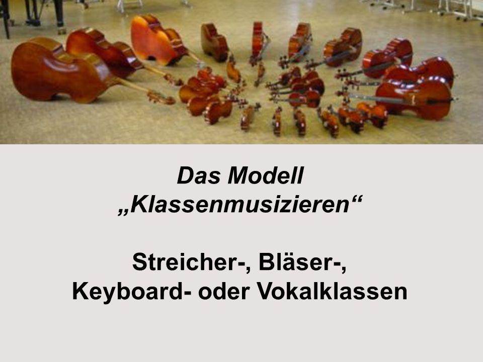 Keyboard- oder Vokalklassen