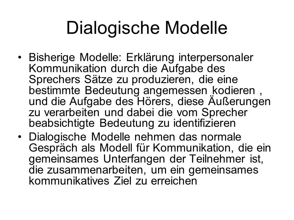 Dialogische Modelle