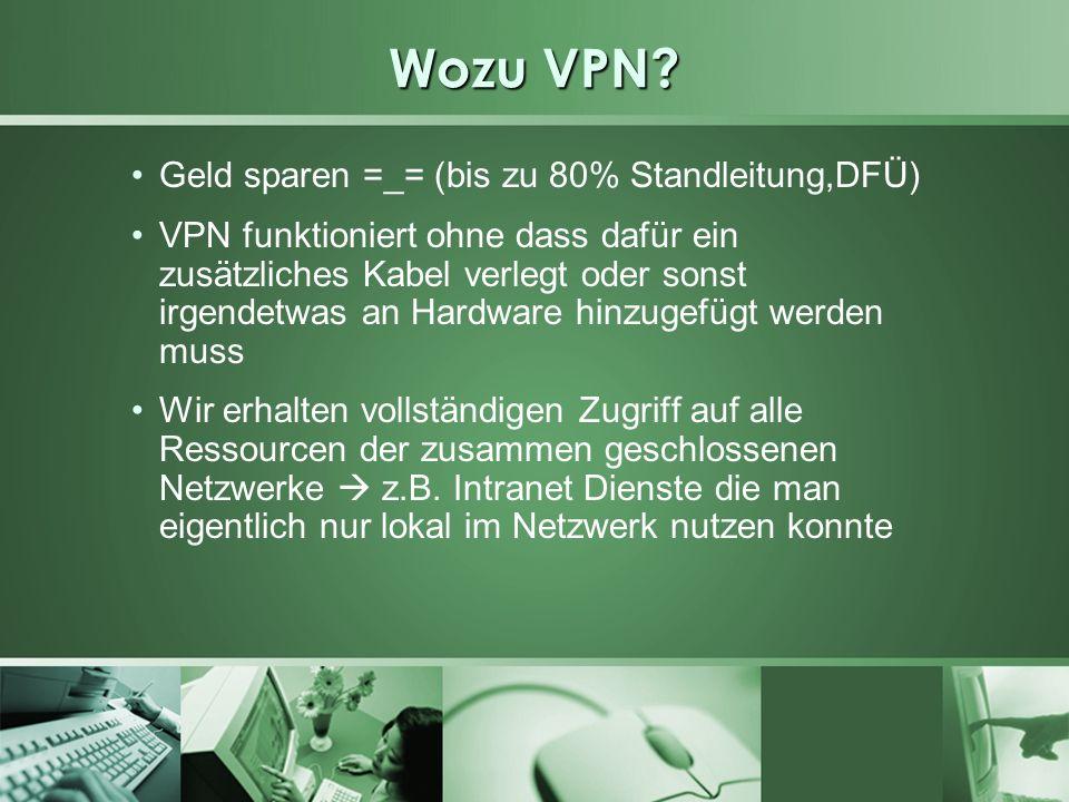 Wozu VPN Geld sparen =_= (bis zu 80% Standleitung,DFÜ)
