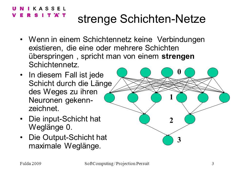 strenge Schichten-Netze